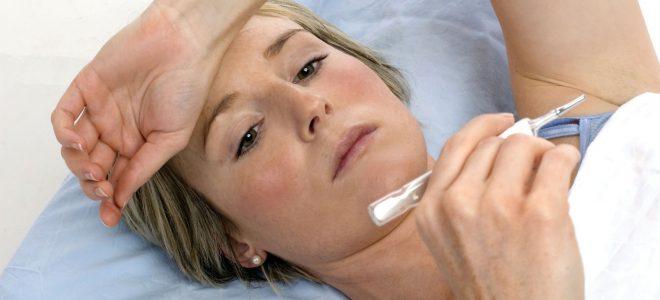 Цирроз печени и высокая температура