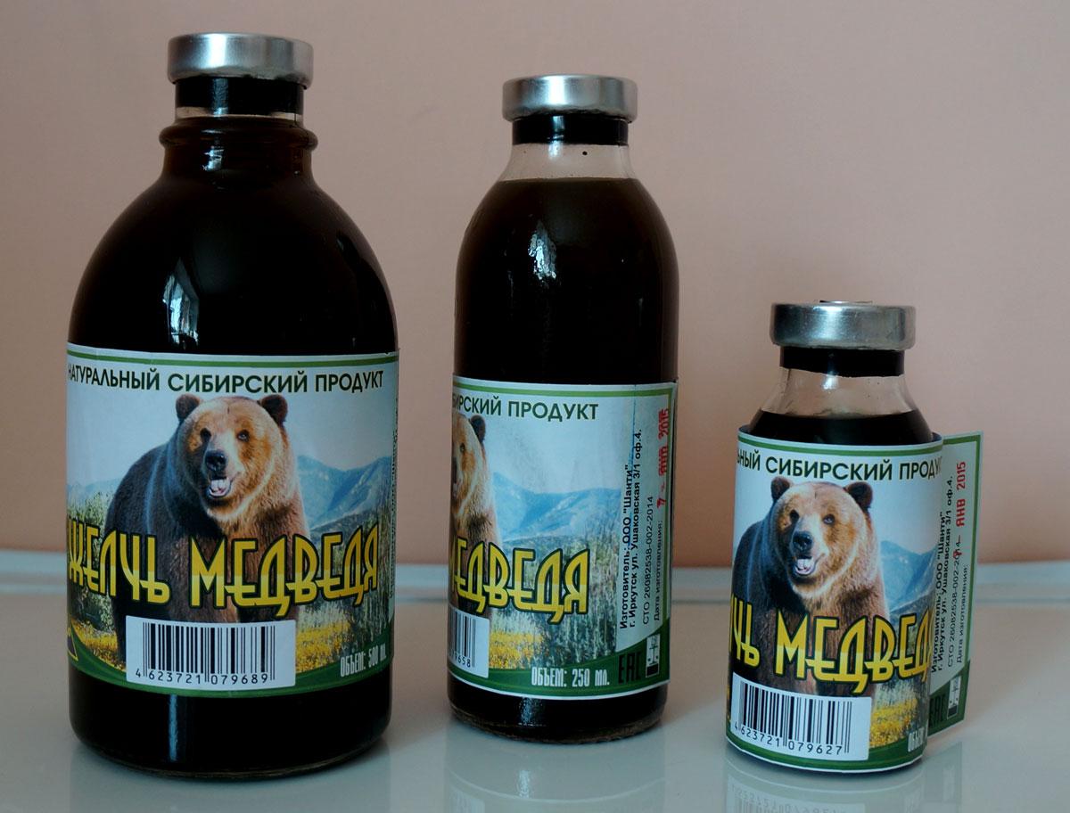 препараты с медвежьей желчью от паразитов
