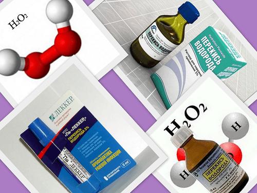 Лечение хронического гепатита С перекисью водорода