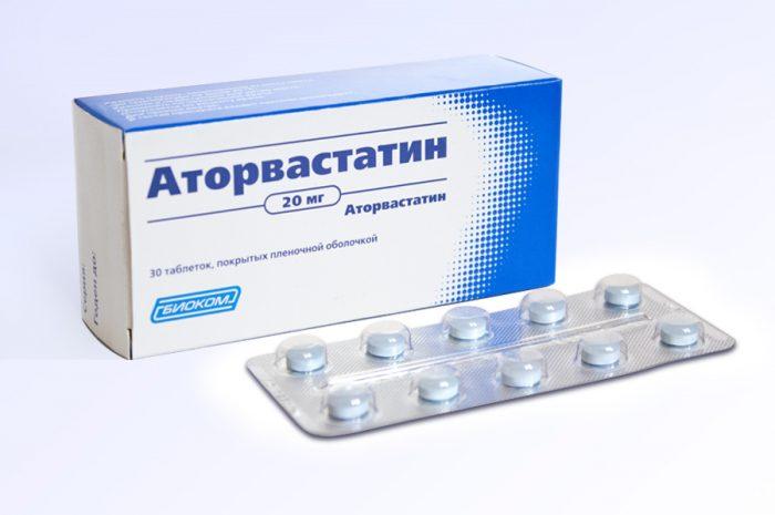 Лекарства от холестерина «Аторвастатин»